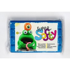 PLASTILĪNS SUPER SOFTY 350gr ZILS