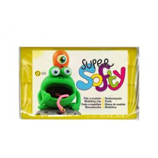 PLASTILĪNS SUPER SOFTY 350gr DZELTENS